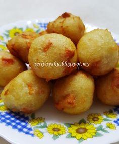 My Kuali: Cucur ubi air panas