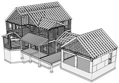 Create SketchUp models with these SketchUp tutorials and free tips. Learn Sketchup for better 3D models from woodworking software than ever before!