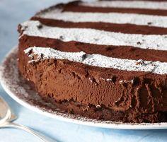 Chocolate truffle cake / Suklaa-tryffelikakku