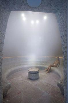 stone sauna spas room design ideas in mandarin oriental riviera maya resort Piscina Interior, Spa Interior, Sauna Steam Room, Sauna Room, Piscina Spa, Steam Spa, Spa Rooms, Spa Design, Mandarin Oriental