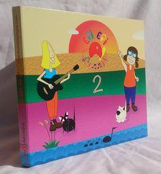 """CD """"Epi epi A! 2"""", canciones infantiles. Incluye 9 canciones originales y de distintos estilos musicales de la multipremiada cantautora Inés Saavedra (www.inessaavedra.com) y 1 cuento de Mamen García (Pichu).  Sólo 10€ (envío a península incluido)"""