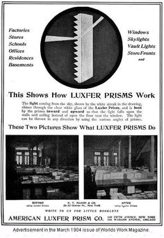 prism glass ad