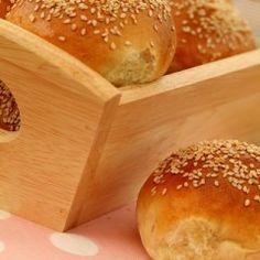 Bułki na jogurcie Hamburger, Bread, Brot, Baking, Burgers, Breads, Buns