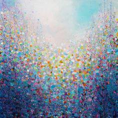 Garden Mosaic, Painting by Sandy Dooley | Artfinder