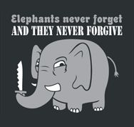 Elephants need Jesus... I think I smell a new ministry opportunity ;)