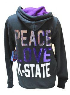 d9974cd6bcf6  kansasjayhawks  kansas  jayhawks  sweatshirts. Kansas State  UniversityKansas ...