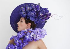 Philip Treacy onthult 'Orchid Hat Collection' - Art of Life #plants #Orchids