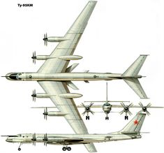 Tupolev KM ( Bear-C.) ' Russian Long Range Strategic Bomber -missile carrier, Modified and upgraded versions of the most notable for their enhanced reconnaissance systems. Russian Bombers, Russian Military Aircraft, Russian Air Force, Aviation Art, War Machine, Airplane, Planes, Aircraft, World