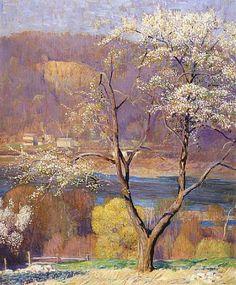Spring at Byram by Daniel Garber, 1950
