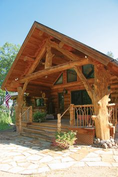 Logs with Character - Cabin Life Magazine