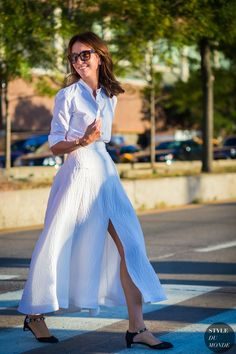 New York Fashion Week SS 2016 Street Style: Alison Loehnis