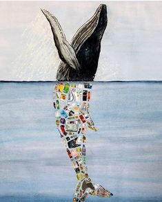 Plastic Whale by 14-yr old Dafne Murillo #repost @greenpeace - Stainless Steel Straws - Metal Straws