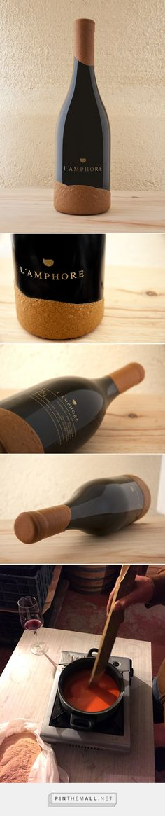 L´amphore Wine (Concept) - Packaging of the World - Creative Package Design Gallery - http://www.packagingoftheworld.com/2017/02/lamphore-wine-concept.html