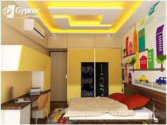 Ceiling designs that match your personality! To know more: www.gyproc.in/