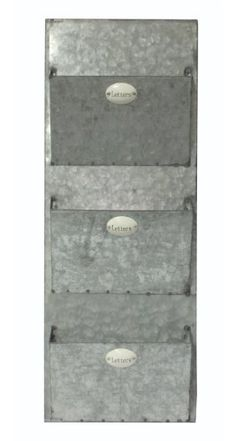 Cheungs Home Decorative Indoor Gift Vintage Letter Storage Rack Galvanized Metal Mail Wall Storage Cheung's http://www.amazon.com/dp/B00KE4436Y/ref=cm_sw_r_pi_dp_Kf4Lub19GBS5E