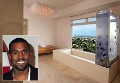 Rapper Kanye West has put his uber-modern L.A. pad on the market for 3.995 million dollars, according to RealEstalker.com.