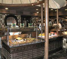 Boma Menu - Buffet - Animal Kingdom Lodge vegetables and fruits