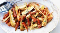 Recette de légumes rôtis au sirop d'érable.