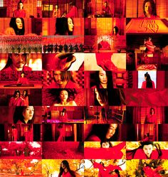 Zhang Yimou sees red. Cinematographer : Christopher Doyle