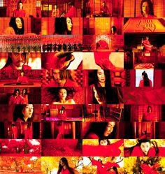 Zhang Yimou sees red. Cinematographer : Christopher Doyle