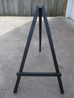 How To Make a Large Display Easel