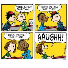 School with the Peanuts gang. Peanuts Cartoon, Peanuts Snoopy, Peanuts Comics, Snoopy Cartoon, Disney Cartoons, Funny Cartoons, Snoopy School, Charles Shultz, Peanuts By Schulz