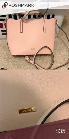 4b4babab45 Aldo pink purse Blush pink purse from aldo. EUC like new. Only used a  handful of times Aldo Bags Crossbody Bags