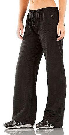 Women's Fila Collezione Loose Fit Comfort Tennis Pants Fila. $64.93