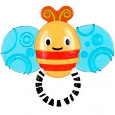 Bright Starts, Start Your Senses Soothe-a-Bee Teether.   This teether is sure to soothe baby's gums with its multiple textures