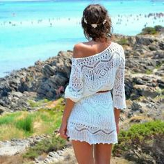 Awesome lacey beach dress