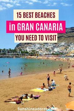 15 Best Beaches in Gran Canaria to Visit - Sunshine Adorer