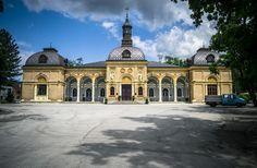 Zagreb's graveyard building