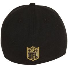 peyton---New Era New Orleans Saints Youth 2012 NFL Draft Fitted Hat - Black