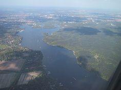 ღღ Berlin, Havel River -  Spandau/Kladow