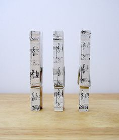 Pegs Musical by Amy Wanford, via Flickr
