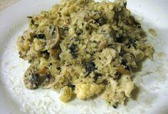 "Fast Paleo » Primal Mushroom ""Caulisotto"" - Paleo Recipe Sharing Site"