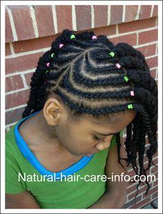 How To Do Cornrows, Easy Cornrow Tutorial Hairstyle Lil Girl Hairstyles, Natural Hairstyles For Kids, Twist Hairstyles, Cool Hairstyles, Kids Hairstyle, African Hairstyles, How To Do Cornrows, Natural Hair Care, Natural Hair Styles