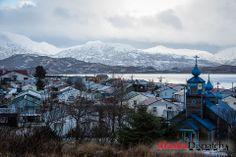 The Kodiak Island village of Old Harbor, Jan 4, 2012