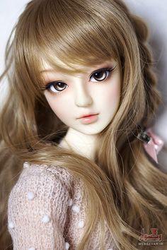 The Porcelain China Diane Lifelike Dolls, Realistic Dolls, Beautiful Barbie Dolls, Pretty Dolls, Anime Dolls, Bjd Dolls, Cute Love Images, Enchanted Doll, Cute Cartoon Girl