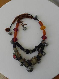 Necklace ,made for Çetinkaya. Galery using Pınar Hakims beads