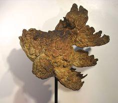 Arnold , a bronze fish sculpture by Pieter Vanden Daele