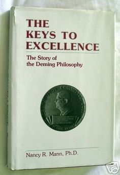 The Keys to Excellence: The Story of the Deming Philosophy by Nancy R. Mann, http://www.amazon.com/dp/0961498609/ref=cm_sw_r_pi_dp_LAgTtb0NYHE4F