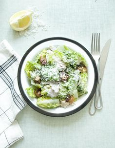 Salade caesar au poulet