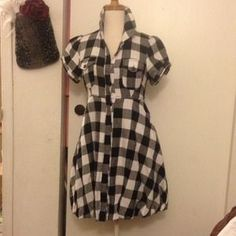 I just discovered this while shopping on Poshmark: Fotever21 Plaid Top/Dress. Check it out!  Size: S
