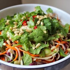Raw Thai Salad