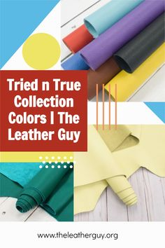 Our best selling leather is perfect for a litany of projects, in beautiful colors ready for any season! #leathersheets #leatherjewelry #diyleather Leather Gifts, Leather Craft, Leather Accessories, Leather Jewelry, Diy Leather Projects, Major Holidays, Leather Sheets, Craft Night, Easy Projects