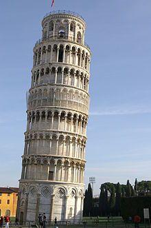 Šikmá veža v Pise – Wikipédia