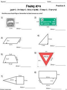 Area Of Trapezoid Worksheet | Homeschooldressage.com