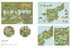 デザインが楽しい! 地図の本 | サンドゥーパブリッシング |本 | 通販 | Amazon