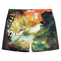 The original tailored swim shorts. Shop the latest collection of stylish resort pieces including polos, shorts and linen shirts. Bermudas Shorts, T Shorts, Swim Shorts, Surf, Bold Fashion, Mens Fashion, Fashion Goth, Korean Fashion, Billabong